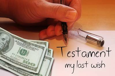 Testament, Money, Hand, Write, Pen, Paper, Letters